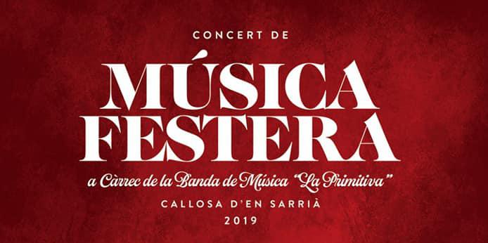 Cartell Música Festera 2019