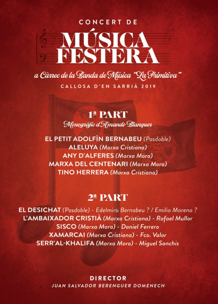 Concert de Música Festera 2019
