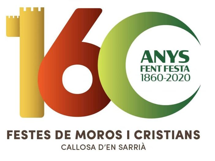 logo 160 aniversari de festes